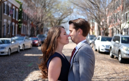 Old Town Engagement Photos